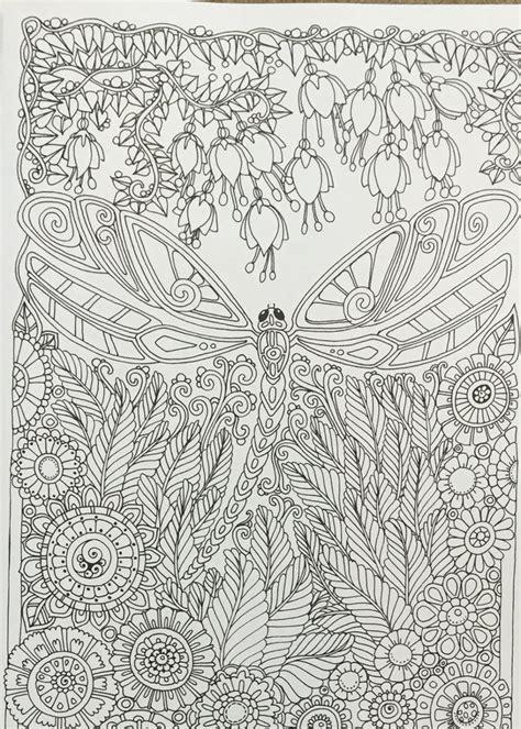 libro creative haven entangled dragonflies mejores 241 im 225 genes de insectos 02 en mandalas impresi 243 n de p 225 ginas para colorear