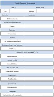 bookkeeping templates for small business sle small business accounting form sle forms