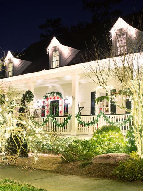 exterior holiday light ideas outdoor lights hgtv