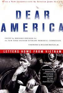 dear america letters home from friends of the veterans plaza dear america