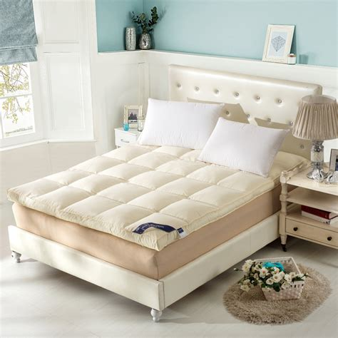 how to make a pad more comfortable high quality feather mattress padded mattress protection