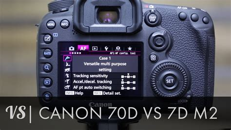 recommended canon 7d mark ii settings photography life canon 7d mark ii vs 70d which is right for you youtube
