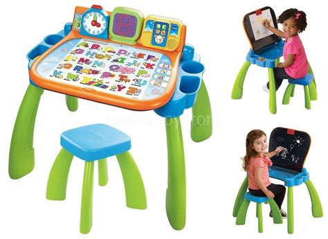 play desk for toddlers activity table children chair desk easel chalkboard