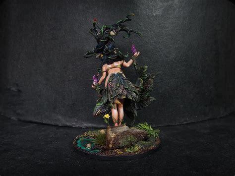 kingdom death flower witch wondercat painting boardgamegeek