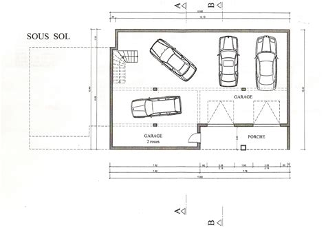 garage floor plan free home plans planning a garage