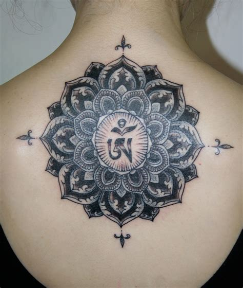 mandala tattoos the gallery for gt black lotus mandala