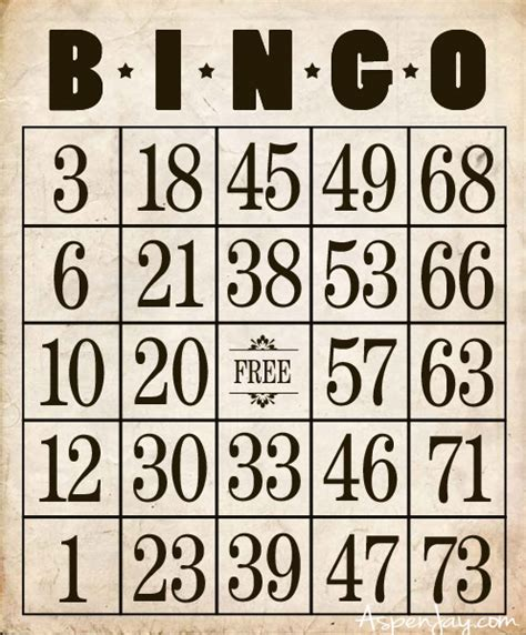 printable number bingo cards 1 100 8 best images of free christmas number printable 1 through