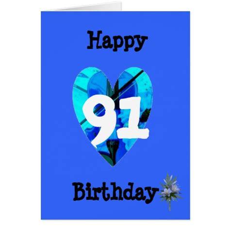 91st Birthday Card 91st birthday greeting card zazzle