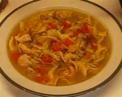 comforting chicken noodle soup comforting chicken noodle soup bigoven 177897