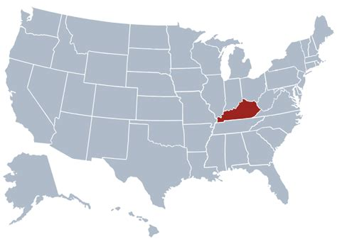 kentucky map facts kentucky state information symbols capital