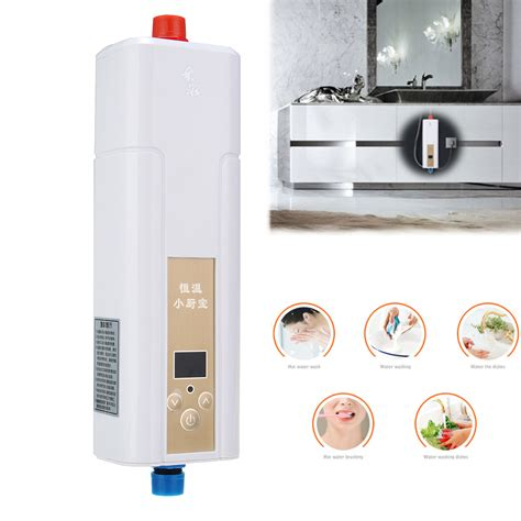 instant water for kitchen 220v instant electric water heater indoor tankless for