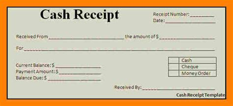 create receipt template 6 how to make a receipt resign latter