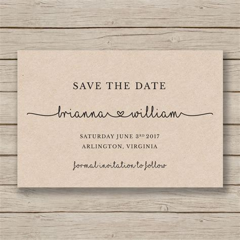 free printable save the date cards templates save the date printable template editable by you in word
