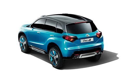 Suzuki New Suv Car Suzuki Iv 4 New Compact Suv Concept