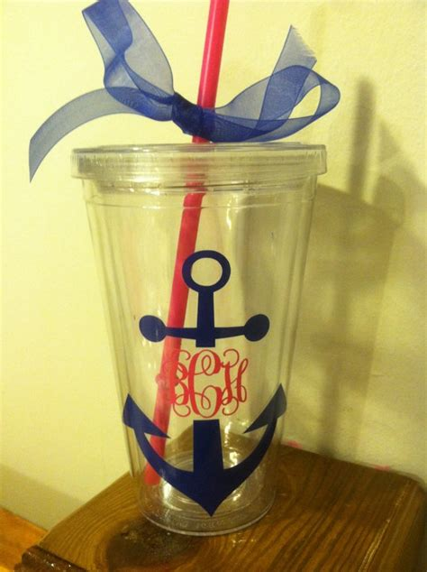 nautical themed gifts nautical themed personalized tumbler for bridal