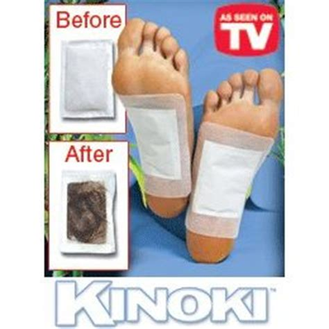 What S The Black From Foot Detox by With Kinoki Cleansing Detox Foot Pads Stylecaster