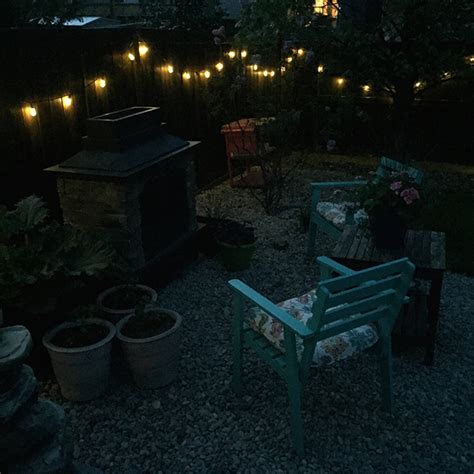 string lights in backyard 7 ways to string lights in your backyard a pretty