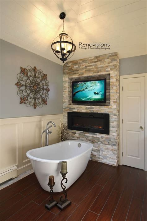 fireplace in bathroom wall best 25 free standing electric fireplace ideas on