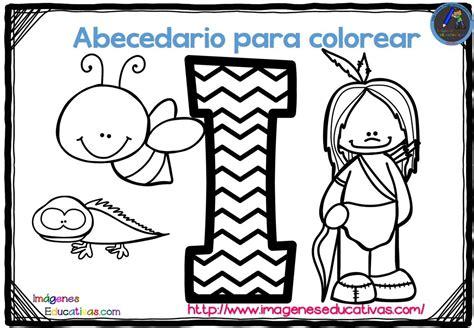 imagenes educativas para descargar abecedario para colorear listo para descargar e imprimir