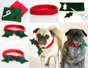 Christmas Holiday Crafts - creative ideas diy christmas dog collar