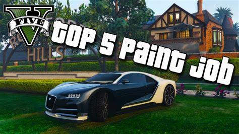 paint nite gta gta 5 truffade nero top 5 paint gta 5