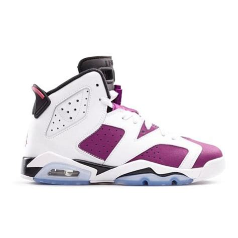 white jordans shoes air 6 retro grape mid white black purple