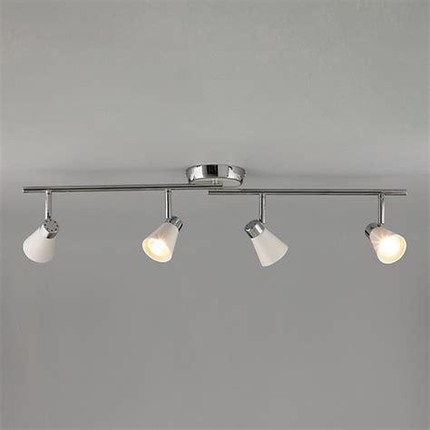 Ceiling Spotlight Bar by Logan 4 Spotlight Ceiling Bar Modern Track Lighting