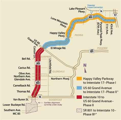 us 60 arizona map arizona loop 303 what s going on with construction