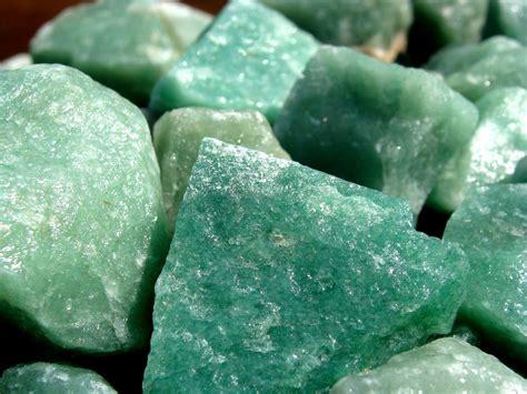 Green Quartz green quartz aventurine in white box