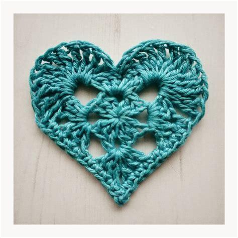 free crochet heart pattern uk crochet tea party granny heart for valentine s day