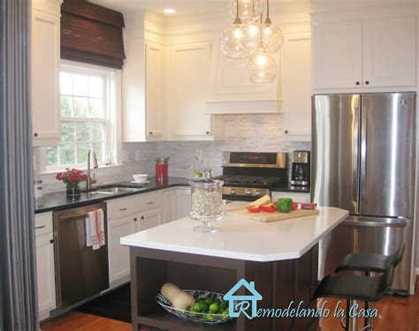 kitchen makeover remodelando la casa 17 best images about painted kitchen cabinets on pinterest