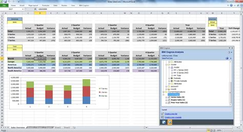 ibm cognos analysis for microsoft excel