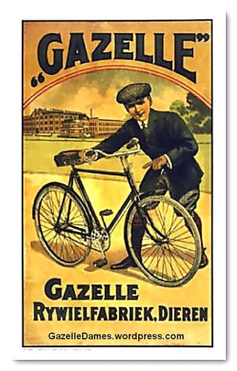 Poster Kayu Iklan Opelette Jadul poster iklan jual sepeda onthel gazelle seri 1 1st series 1916