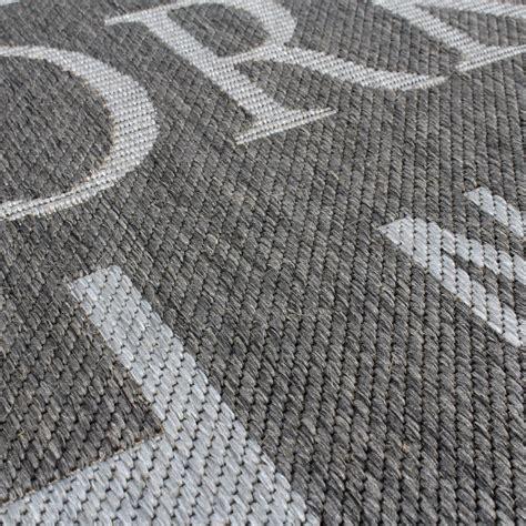 teppich flur grau teppich modern city sisal optik flachgewebe designer