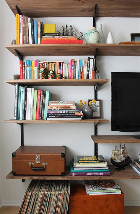 Diy Mounted Shelving Almost Makes Perfect Diy Wall Mounted Bookshelves