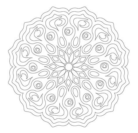 printable complex coloring pages complex mandala coloring pages printable printable