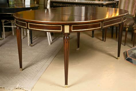 french dining table with louis xvi style legs and french louis xvi style mahogany circular dining table by