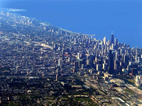 Records Chicago Illinois Chicago From The Air