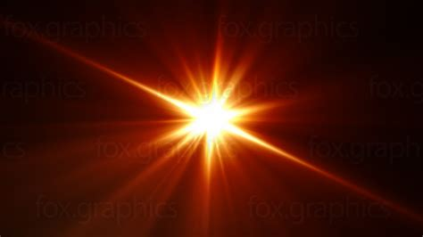 Flash Of Light by Orange Flash Background Fox Graphics