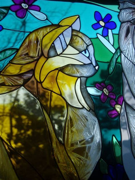 stained glass cat l 151 best vitrales images on pinterest stained glass