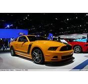 Orange 2012 Ford Mustang Boss 302  BenLevycom
