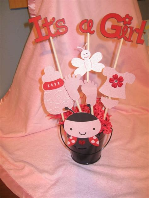 Ladybug Baby Shower Centerpieces by 17 Best Ideas About Baby Centerpieces On
