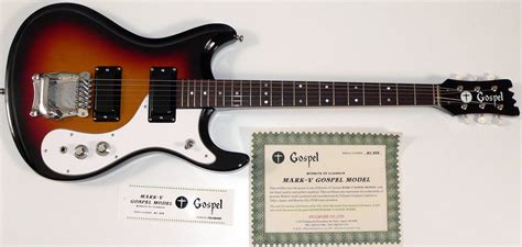 Color Tone mosrite gospel guitar mosrite guitars ed roman guitars