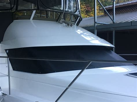 boat canvas windshield windshield covers for powerboats and motor cruisers