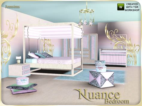 sims 3 bedroom sets jomsims nuance bedroom