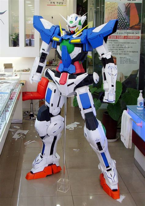 Gundam Exia Papercraft - papercraft gundam exia 180cm photo review no 16 big
