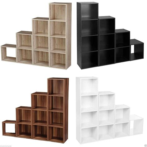 display shelving 1 2 3 4 tier wooden bookcase shelving display storage wood