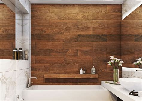 wood bathroom 28 creative tile ideas for the bath and beyond freshome com