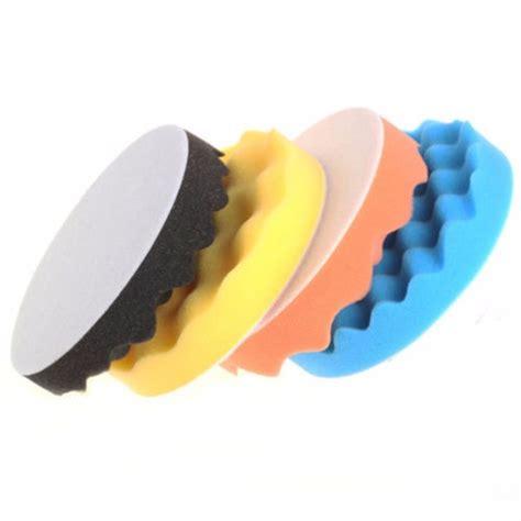 Alctron Is4 Pad Holder 4pcs 3 7 inch buffing polishing sponge pads kit for car polisher