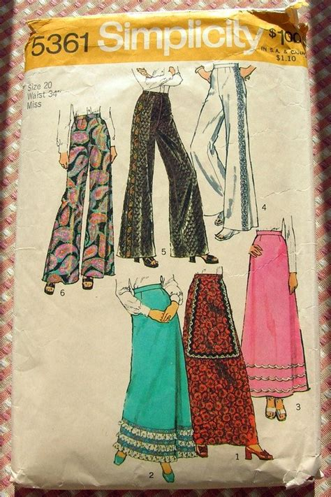 simplicity 5361 misses plus size maxi skirt and 70s